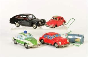 4 VW Modelle