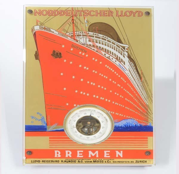 Barometer Norddeutsche Lloyd