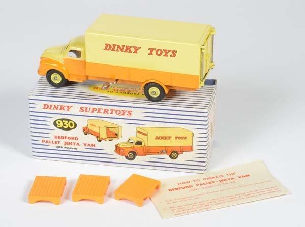 Dinky Toys, Bedford Pallet Jekta Van
