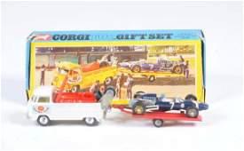 Corgi Toys Giftset Nr 6 Volkswagen mit Trailer