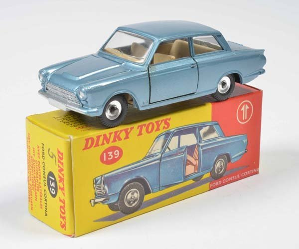 Dinky Toys, Ford Consul Cortina Nr. 139