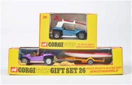 Corgi Toys Gift Set 26  Beach Buggy Nr 381