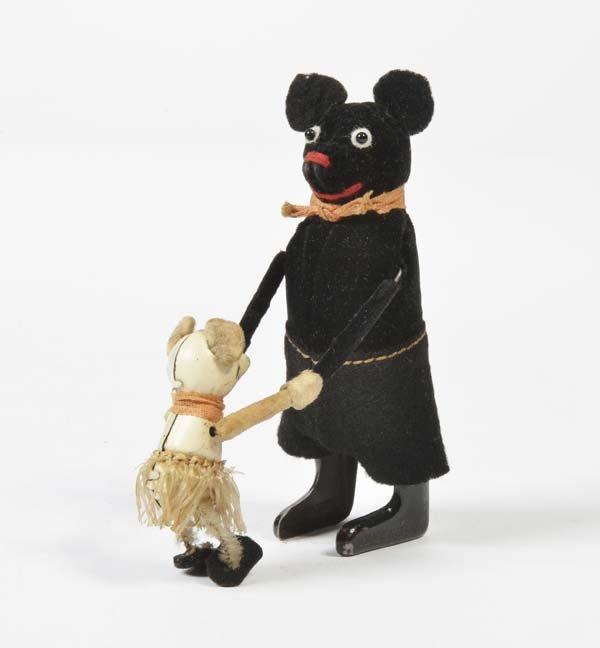 Schuco, Schwarze Maus mit Maeusekind