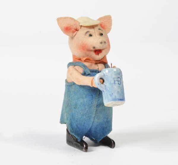 Schuco, Schweinchen mit Krug