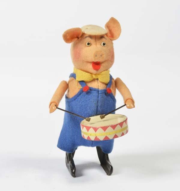 Schuco, Schweinchen mit Trommel