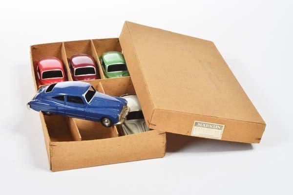 Marklin, 6er Packung Buick mit 5 Autos