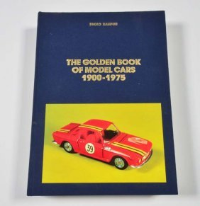"Buch ""the Golden Book Of Model Cars 1900-1975"""