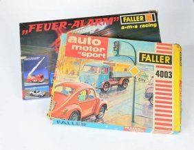 Faller, Ams Racing Feuer Alarm + Auto, Motor + Sport
