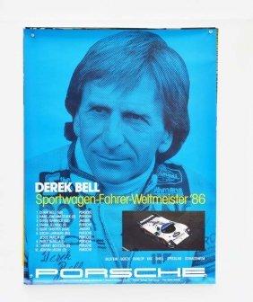 3 Verschiedene Porsche Plakate 1986