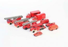 Wiking U.a., Konvolut Feuerwehrautos
