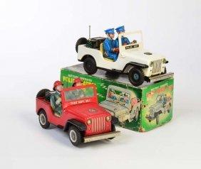 Tn, 2 Jeeps