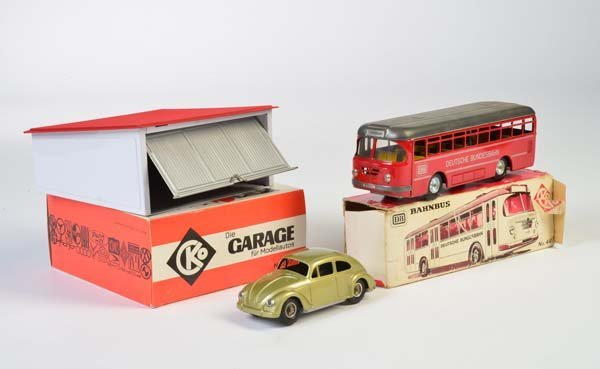 Kellermann, VW Kaefer, Garage + Bus