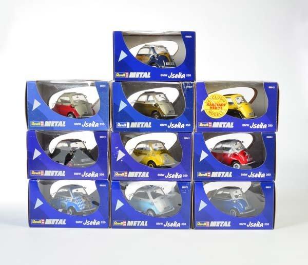 Revell, 10 Autos (BMW u.a.)