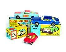 Corgi Toys Heinkel Kabinenroller Ford Mustang Flower