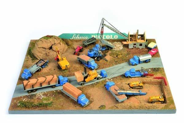 Schuco, Piccolo Diorama Baustelle