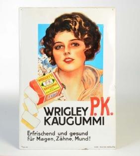 """Plakat Industrie Berlin , Blechschild """"Wrigley"""