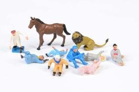 Corgi Toys, 10 Figuren fuer Fahrzeuge