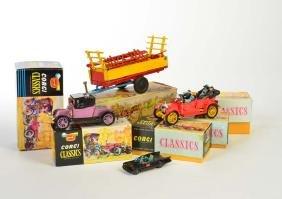 Corgi Toys u.a., Konvolut Fahrzeuge