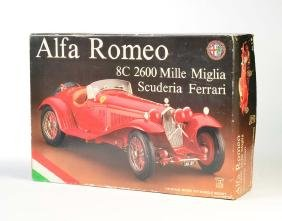 Pocher, Alfa Romeo Bausatz 1:8