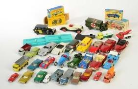 Marklin, Matchbox u.a., Konvolut Modellautos