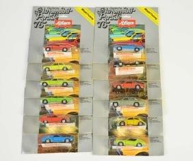 Schuco, 12 Autos