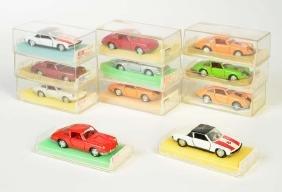Schuco, 11x Porsche