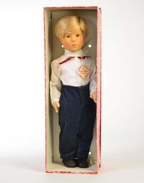"Kaethe Kruse Puppe ""Martin"""
