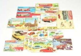 Dinky Toys, 17 Originalkataloge