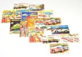 Dinky Toys, 16 Kataloge 60er Jahre