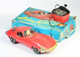 Johnny Speed Giant Size Racing Car