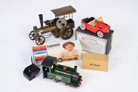 Mammol, Dampflok, Dampftraktor + Blechtraktor