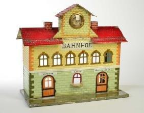 Kibri, Bahnhof fuer Spur 1 + 2 (handlackiert)