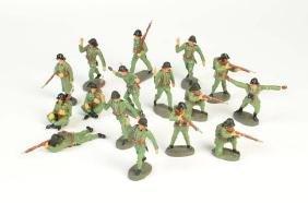 Elastolin, 16 Militaerfiguren