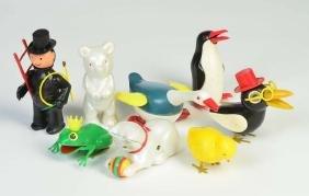 Koehler, Konvolut Tiere + Schornsteinfeger