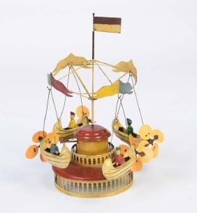 Mueller + Kadeder, Karussel mit 4 Luftschiffen