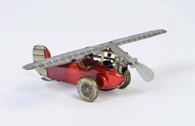 "Saalheimer + Strauss, Flugzeug ""Pou de ciel"""