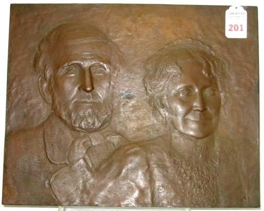 201: Civil War Bronze General Grant