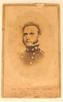 204: Civil War Confederate General Stonewall Jackson Ph