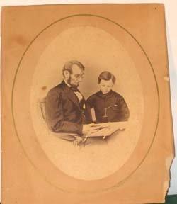 206: President Lincoln Photograph