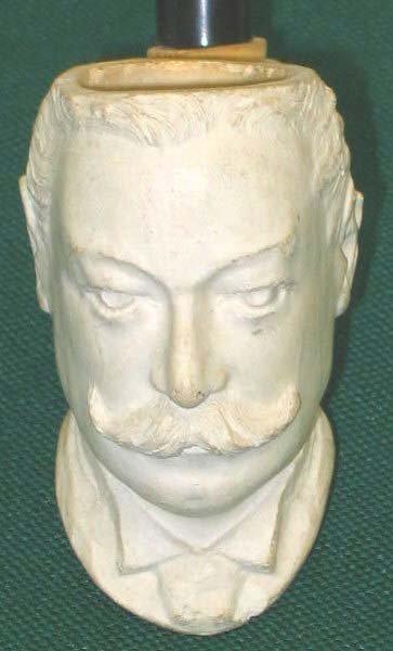 210: President Taft Portrait Pipe