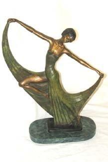 212: Art Deco Bronze Faylar