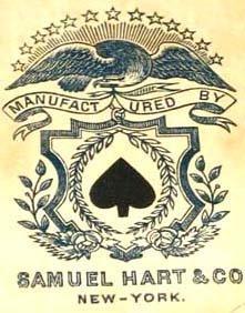 214: Gambling Cards Faro Poker Hart 1880's