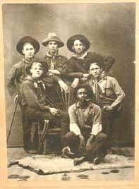 215: Western Americana Photo Cowboy Portrait