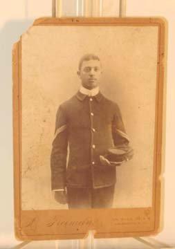 218: Civil War Photo Black Union Soldier