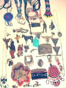 308: Western Old West Indian Jewelry Lot