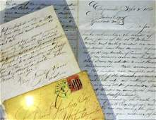 457: Civil War Letter Death of Gen. Lyon
