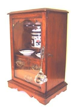 242: Antique Smoking Cabinet English