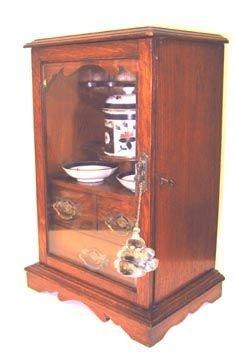242: Antique Smoking Cabinet English