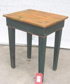 252: Primitive American Work Table