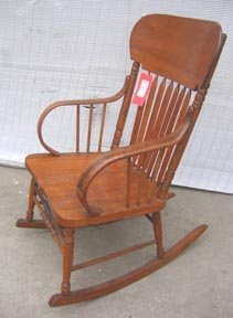 257: Classic TOC Bentwood Rocking Chair